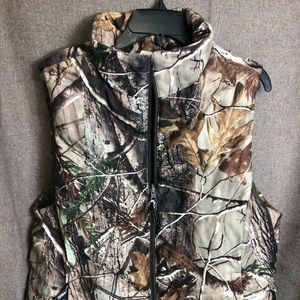 Real Tree Winter Vest